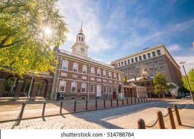 Independence Hall in Philadelphia, Pennsylvania USA