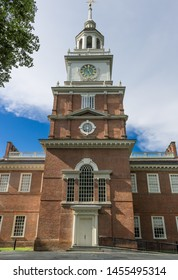 Independence Hall, where the delectation of independence was signed, Philadelphia, PA taken June 20th 2019