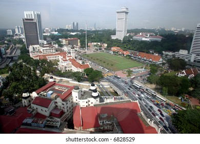 Independence Square or Dataran Merdeka, 2004.