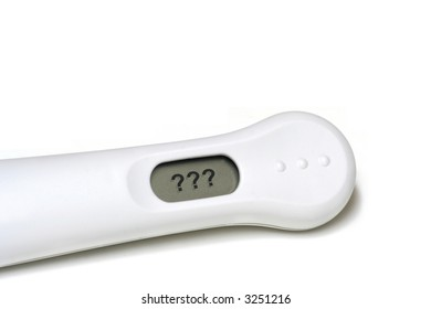 An Indeterminate Pregnancy Test Result Leads to Confusion