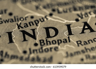 India Map With State And City Images, Stock Photos & Vectors