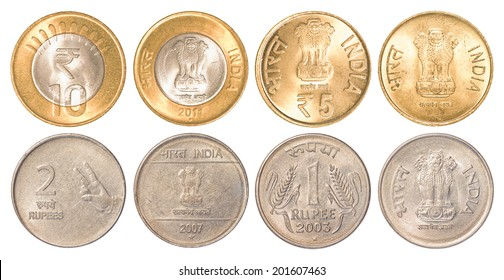Indian Coin Images, Stock Photos & Vectors | Shutterstock