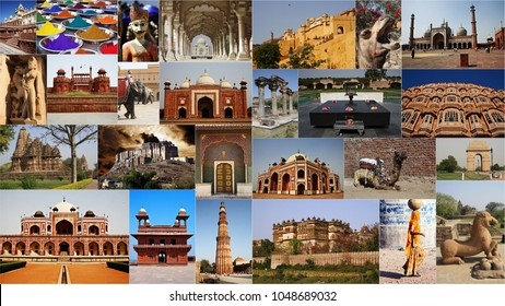 INDIA COLLAGE PHOTO
