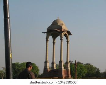 India Gate and Amar Jawan Jyoti