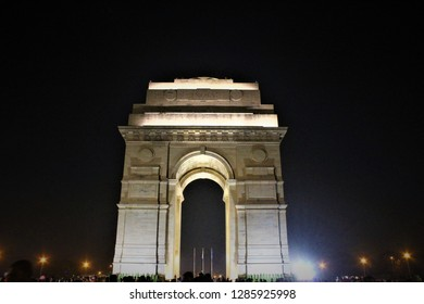 The India Gate (originally called the All India War Memorial) is a war memorial located astride the Rajpath