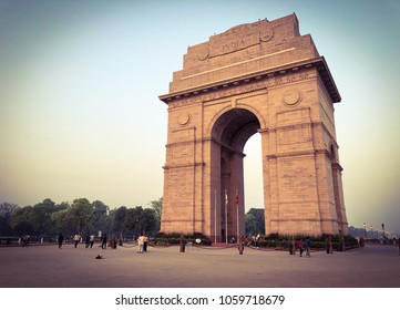INDIA GATE,war memorial,New Delhi,India