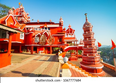 India, Goa, 8 March 2017.  Maruti Temple (Hanuman Temple) in Panjim