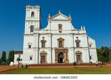India, Goa, March 8, 2017. Across the Senate Square sits the Se Cathedral de Santa Catarina, known as Se Cathedral, the largest church in India dedicated to St Catherine of Alexandria.
