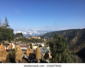 india, hills, mountains, greenery, house, sky, greenery of hill station with mountain view.
