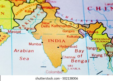 Label The Map Of Asia.Asia Pacific Map With Country Label Stock Photos Images
