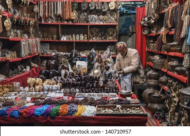 INDIA, Rajasthan, Jaipur, indian products store