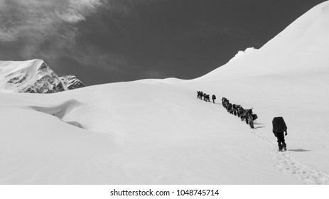 India Uttarakhand Gharwal Mountaineering Monochrome - Part of the Nehru Institute of Mountaineering certification, it was spending lengthy time with the locals which was the reward