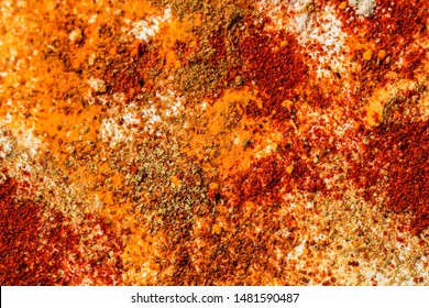 indian all spice mix background