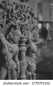 Indian Artwork in black and white