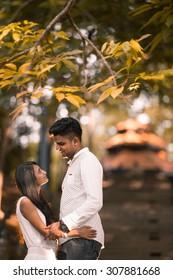Indian Asian Malaysian couple