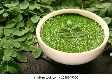 Indian Ayurveda skin care ,facial herbal cream - prepared with moringa oleifera