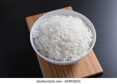 indian basmati rice, pakistani basmati rice, asian basmati rice, cooked basmati rice, cooked white rice, cooked plain rice in round white bowl