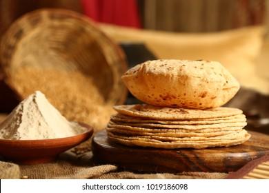 Indian bread roti.
