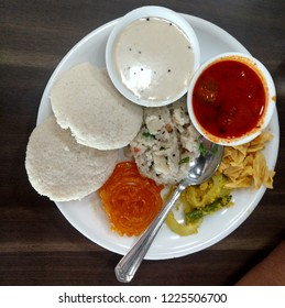 indian breakfast, idli sambhar, jalebi