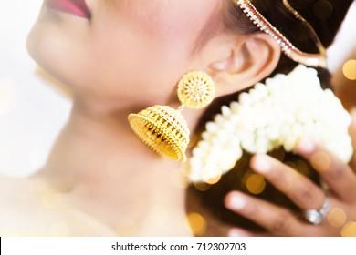 Indian bride, henna tattoo