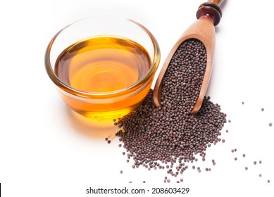 Indian Brown Mustard Seeds and oil