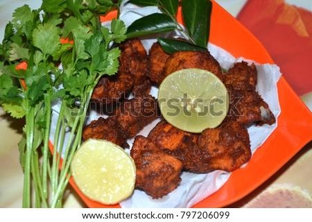 Indian Chicken 65 Recipe Stock Photo Edit Now 797206099 Shutterstock