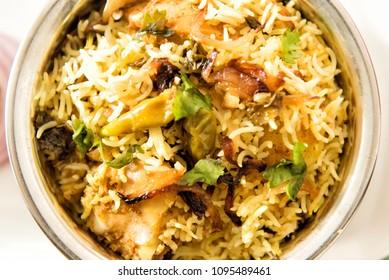 Indian Chicken Biriyani