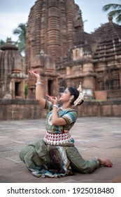 Indian Classical Dance. Odissi major ancient Indian classical dance form.
