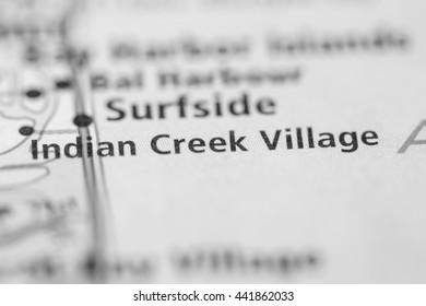 Indian Creek Village. Florida. USA