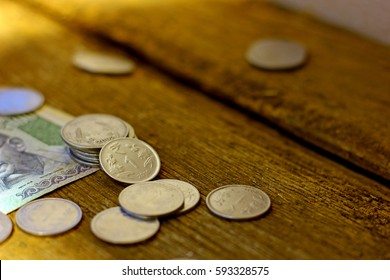 Indian currency coin and note