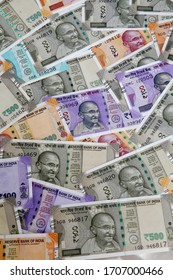 Indian currency notes for backgrounds