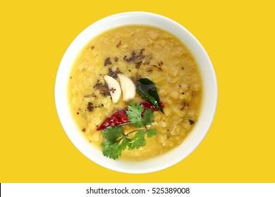 Indian dish tarka dal,Daal Curry,traditional Indian food