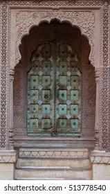 An indian door.