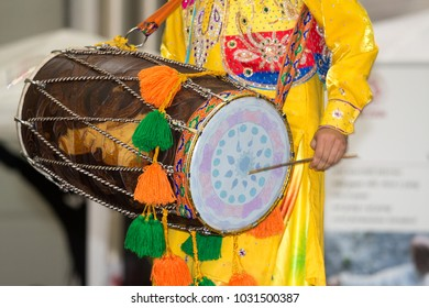 indian drum players oriental culture festival bologna italia