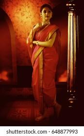 Indian ethnic wear, 9 yard saree