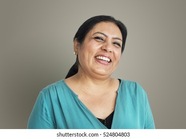 Indian Ethnicity Woman Positive Concept