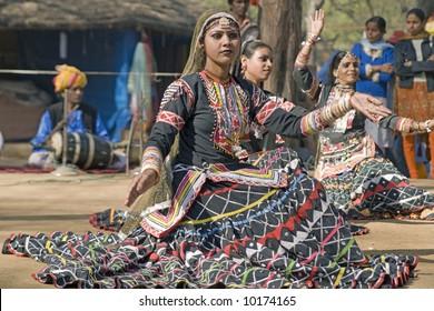 Indian female dancer