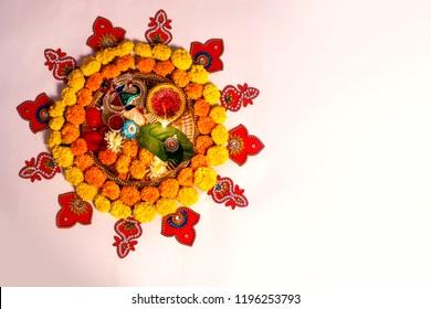 Pooja Flower Images Stock Photos Vectors Shutterstock