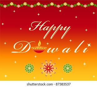 "Indian festival ""Happy Diwali"" greetings"