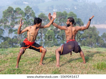 Indian fighters performing Adi