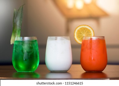 Indian Flag tri Color Mocktails independence Day special