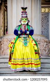 Indian folk dance Kathakali