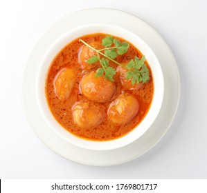 Indian Food, Dum Aloo Potato Curry, spicy curry - Shutterstock ID 1769801717