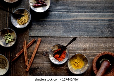 Indian food ingredients.spices