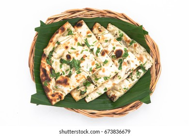 Indian food kulcha, a type of traditional and popular bread, Kulcha Indian Bread