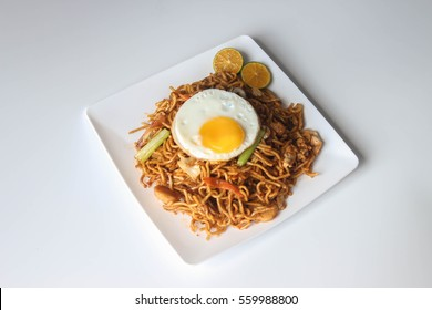 Indian fried noodles or Mee Goreng Mamak is an Indian Muslim type of noodle dish commonly found in Singapore and Malaysia