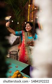 Diwali Selfie Images Stock Photos Vectors Shutterstock