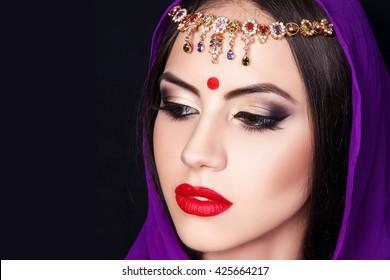 Indian Makeup Images, Stock Photos & Vectors | Shutterstock