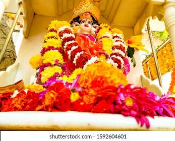 indian god dattatreya/guru datta on dattatreya jayanti,India