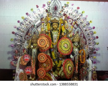 Indian Godess in Temple 1